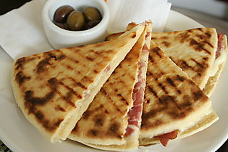 Port - CU piadini at Caffe Umbria