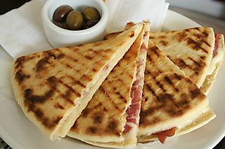 Port - CU piadini at Caffe Umbria