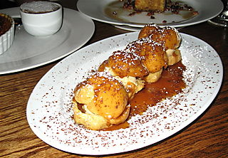 Port - Foie Gras profiteroles at Le Pigeon