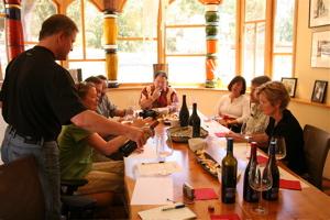 A- Quixote wine tasting room