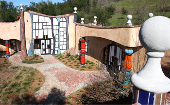 A-Quixote - winery shot from top level