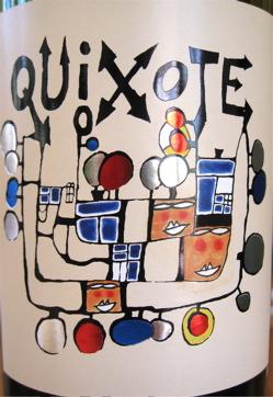 A-Quixote – Quixote wine label CU