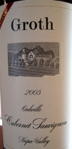 A - groth - Cab Reserve label