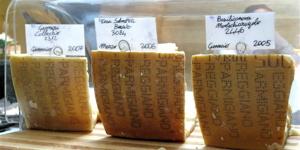 I - 3 Parmesan cheeses