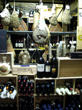 I - the wine cellar at Cocchi