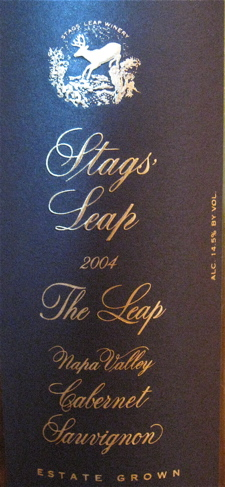 SLD - Stags Leap Winery label