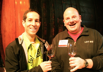 NVV - Judd Finkelstein of Judd's Hill, and Andrew Schweiger, of Schweiger Vineyards