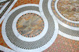DEL- CU Floor mosaics