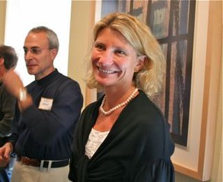 Acme - winemaker, Sarah Gott, whose wines are like her pearl necklace -- they stand out in a crowd
