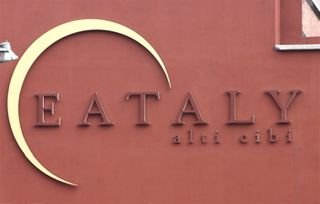 EAT - Logo on Building