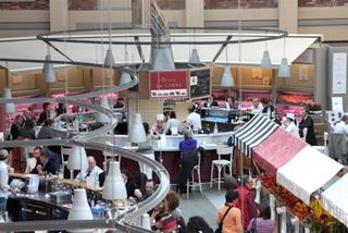 EAT - aerial of Meat restaurant