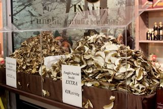 Truffles -- funghi porcini also sold at Fair, 350 dpi