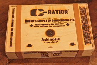 Askinoisie – shot of C-Ration box
