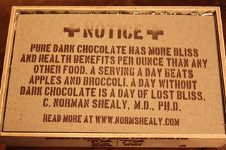 Askinosie – message on inner liner of box