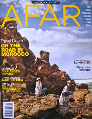 Afar – Cover shot issue 1
