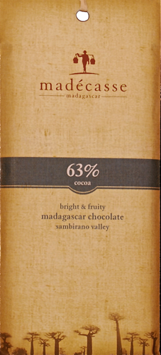 Madecasse - 63% Dark Chocolate