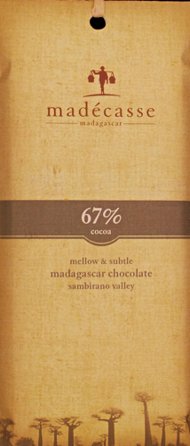 Madecasse - 67% Dark Chocolate