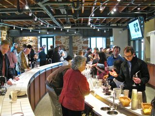 A - the tasting room at Rudd