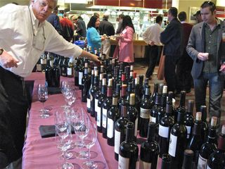 1 – and here's looking at wines at the other end of the same table