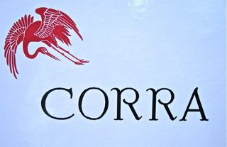 A - Corra label REAL Close up