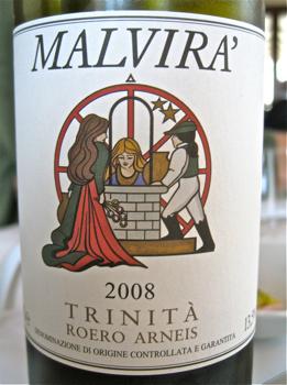 Malvira – CU Trinita Arneis