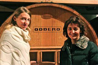 Awine – shot of Isabella Boffa and Cristina Oddero