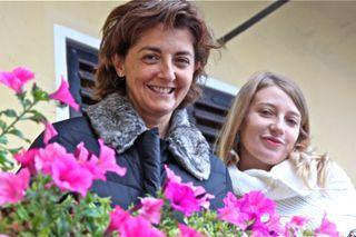Awine - Cristina Oddero and niece Isabella Boffo