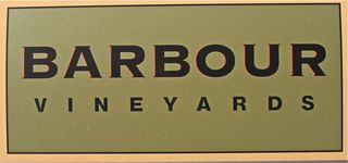 Barbour Box – the sign on his vineyard trucks