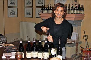 Prima - Cristina Oddero pulls corks from wines