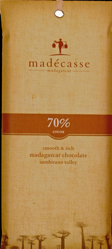 Madecasse - 70% Dark Chocolate