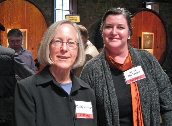 1 - Cathy Corison & Joyce McCollum