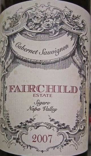 A-Fairchild – CU Sigaro label
