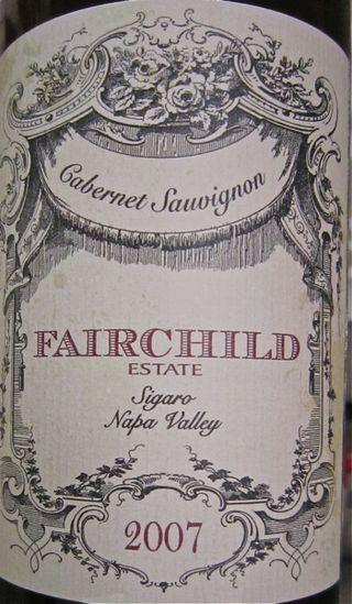 A-Fairchild – CU Sigaro label