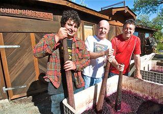 A - Charter Oak, David, Jim & Rub at Punchdown