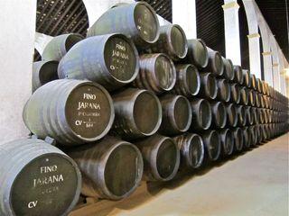 A - Jerez, solera barrels