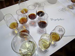 A – Jerez – tasting glasses