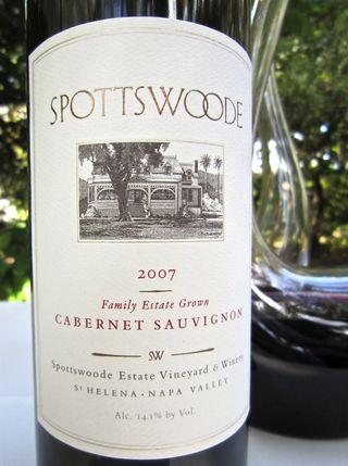 A - Spottswoode - CU 07 Cab
