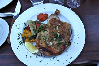 A - Coppola - Dinner 2, chicken mattone