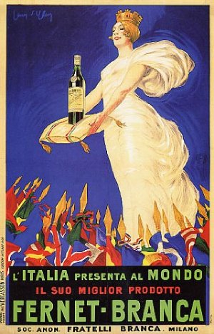 A - corretto, Fernet Branca poster