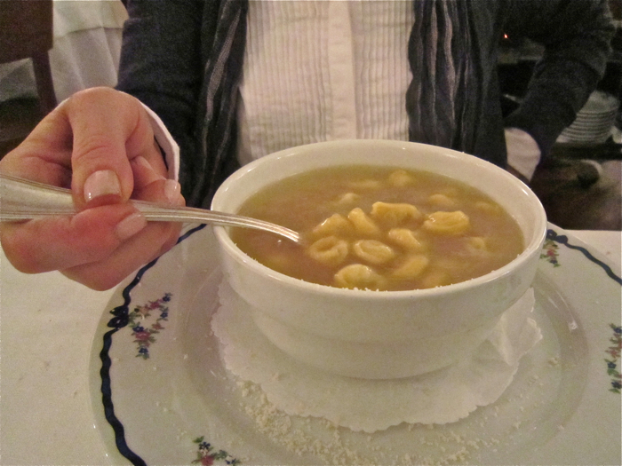 A – Rome – brodo at Dal Bolognese