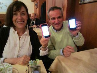 A – Rome – shot of Carol & Pharmacist