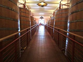A-Oakville - Entrance to the upper tier of the barrel room