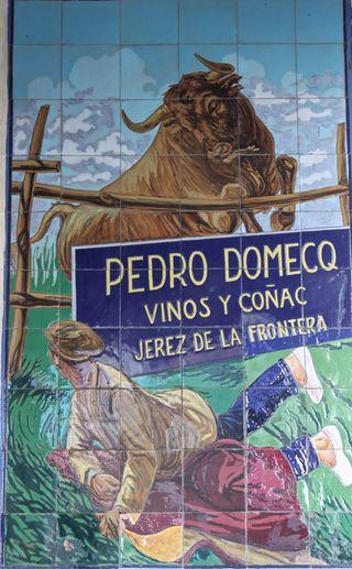 A - Jerez, Pedro Domecq tiles