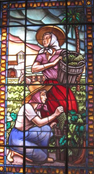 A - Jerez, stained glass window