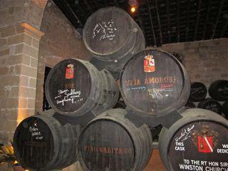 A - Jerez, signed barrels