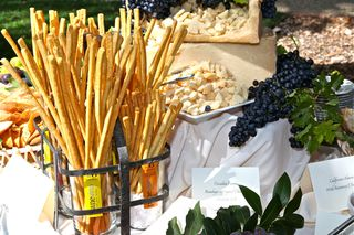 A – Spottswoode – bread, cheese table