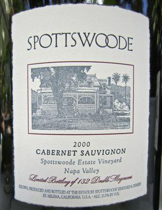 A - Spottswoode - CU label 2000 Cab