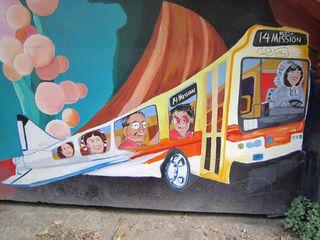A - Murals - bus:plane