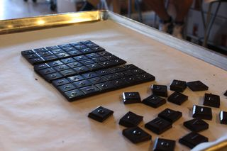 A -ask - chocolate on table