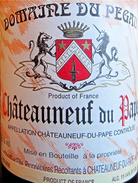 CU 1999 Domaine du Pegau CDP